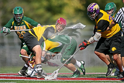 9/29/2013 - Fall Exhibition - Iroquois Nationals vs. Siena College - Cortland State University, Cortland, NY