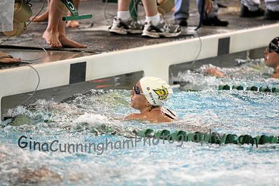 2012 WAC Championships for SJSU Swim 2-23-12 Prelims