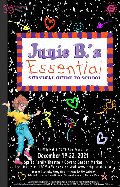 Fall 2021 - Junie B.'s Essential Survival Guide to School