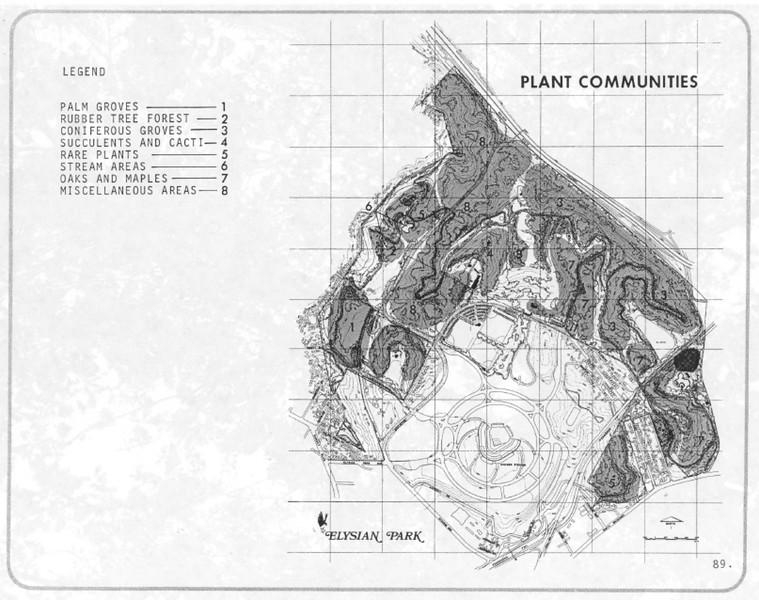 1971, Plant Communities Map