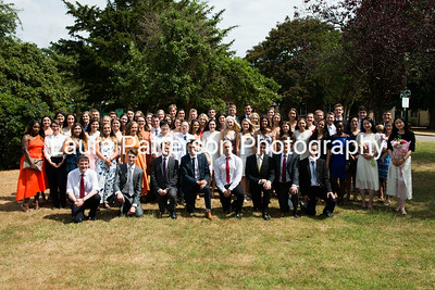 University of Nottingham School of Geography Graduation Reception July 2018