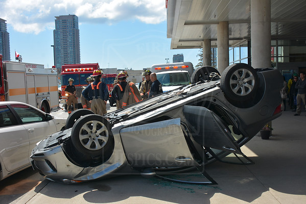 April 27, 2014 - Vehicle Rollover - Progress Ave. & Brimley Rd.