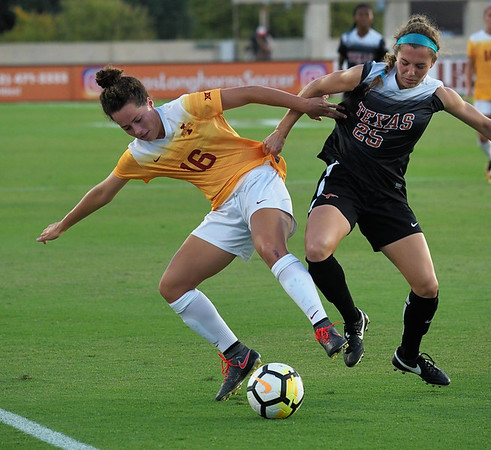 University of Texas Soccer vs. Iowa State 9.22.2017
