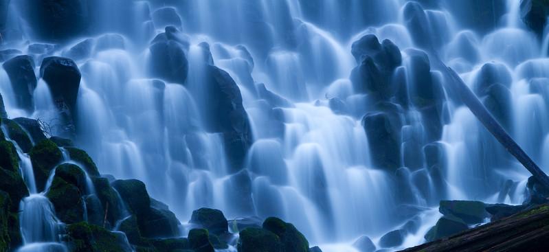 Ramona Falls at dawn, Mt Hood Wilderness