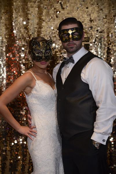 Danielle and Josh PhotoWALL FUN!!!