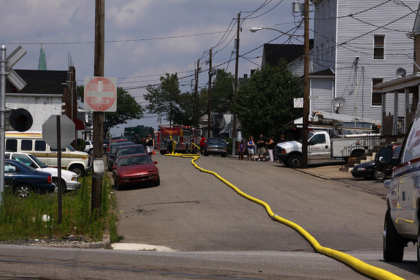 Vehicle Fire, Industrial, Hazleton, 7/17/09