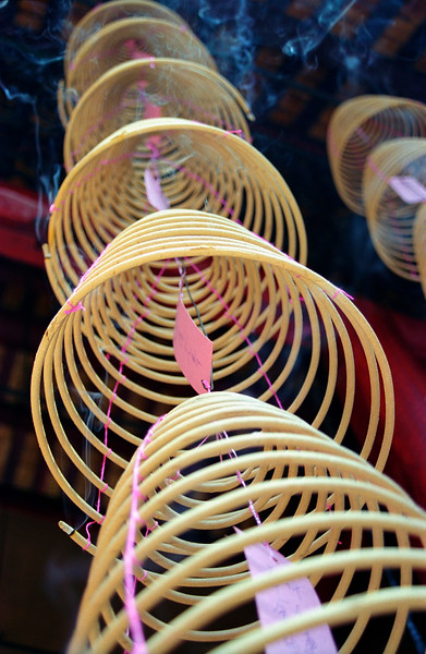 Incense Sticks at Chinese Temple, KL