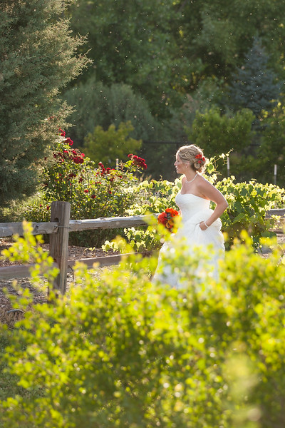 Wedding at the Gardens on Spring Creek