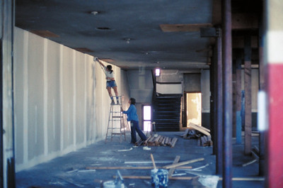 1975, Taping the Walls