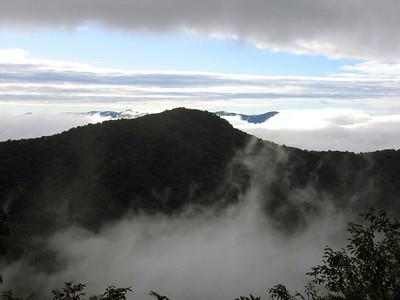 North Carolina highpoint: Mt. Mitchell: Oct. 7-8, 2005
