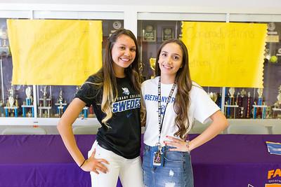 Eastlake High School Signing Alexia Gonzalez Daniela Gutierrez