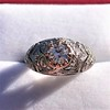 0.94ctw Vintage Old European Cut Diamond Dome Ring, Center OEC (GIA .59ct G SI2) 20