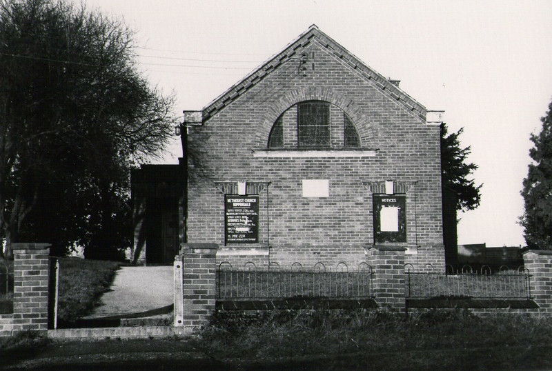 The Methodist Church near Dovecote.