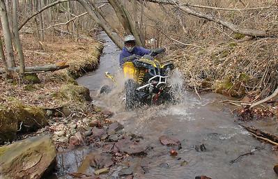 3-7-2009 Quad Ride