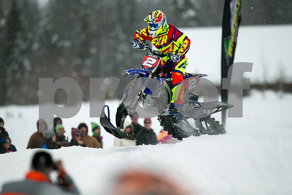 McCall Snow Bike Racers