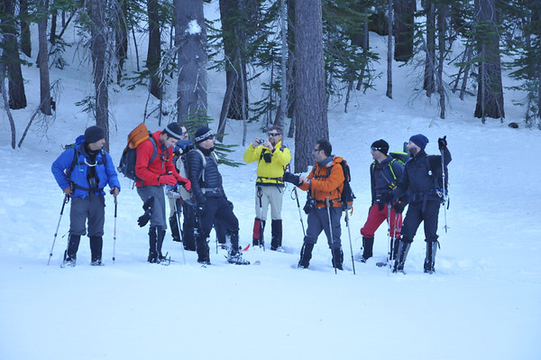 Avalanche Course January 27-29, 2012