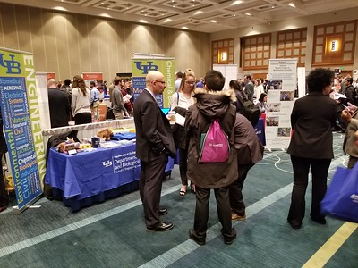 2017 UB CBE table at National AIChE Conference