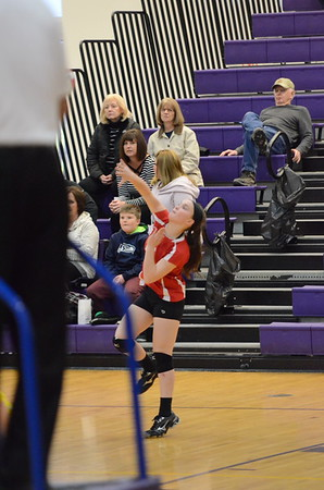 CMS Volleyball @ Casey 2/5/18