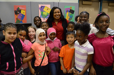 Lunch with the Mayor: Children's School of Rochester 5/22/2014