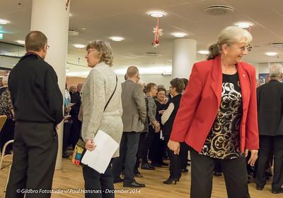 Ishøj Kommune pensionist julefrokost 2014