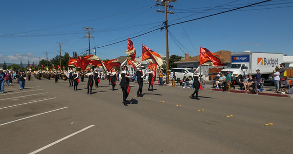 170611 GHS MARCHING BAND IN RODE PARADE