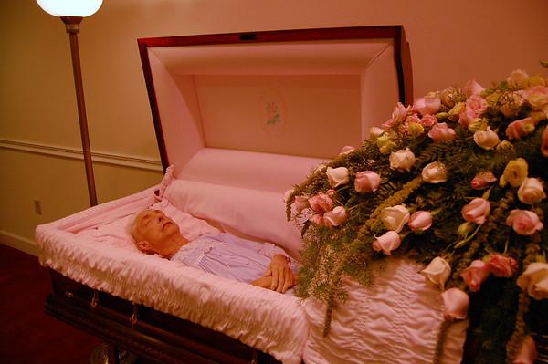 Miss Dukes Funeral