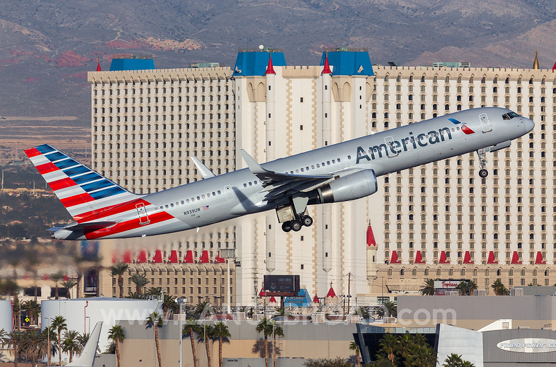 American Airlines 757-200 - N939UW - LSV