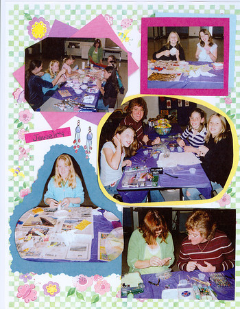 2006 GS Scrapbook pages