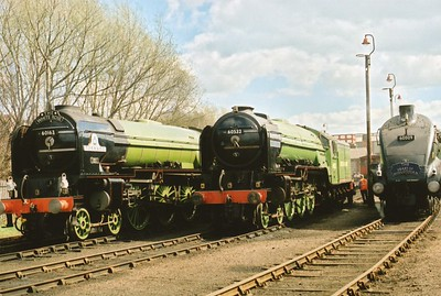 Barrow Hill Steam Locomotives
