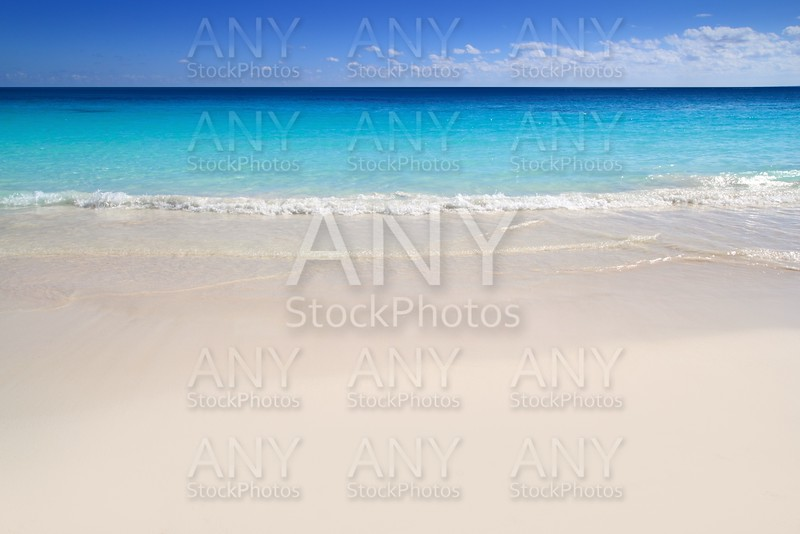 beach tropical turquoise Caribbean water