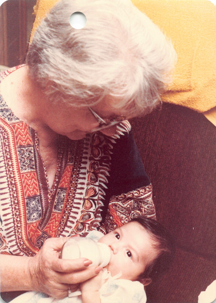 Grandma Frankie and Alaya