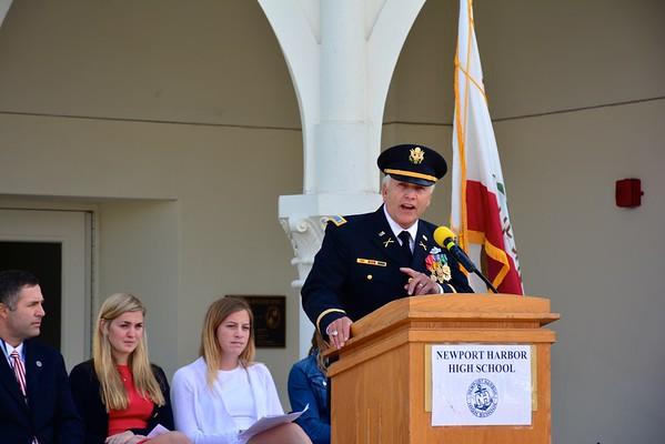 2015 Newport Harbor High School Memorial Day Ceremony