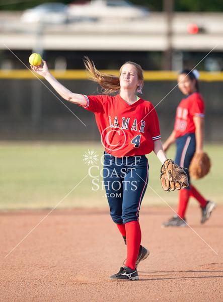 2011-04-30 Softball Seven Lakes v Lamar