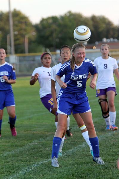 09-04-13 Maumee vs Springfield Varsity Girls Soccer