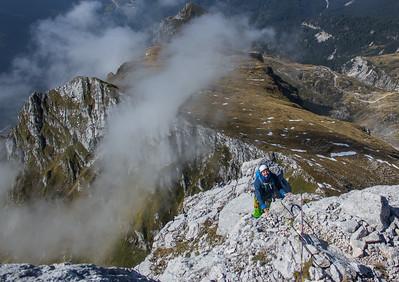 09 12 Southwest ridge of Mangart