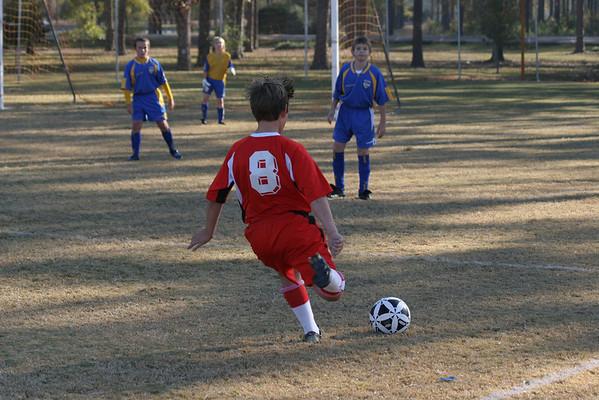 U-11 Fall Season 2007/ Tanner's Team