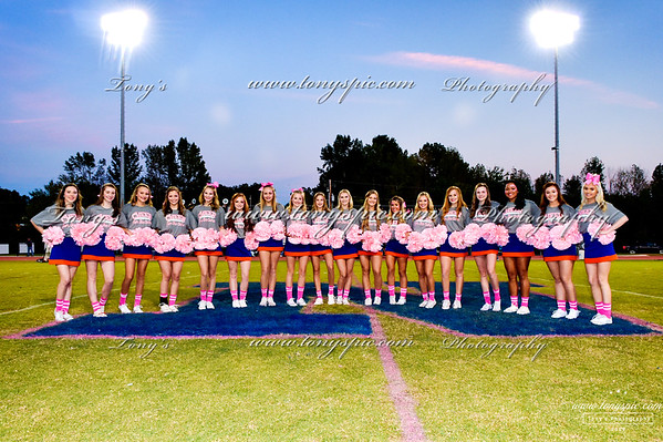 Cheerleader Pink Out 12 Oct 2018