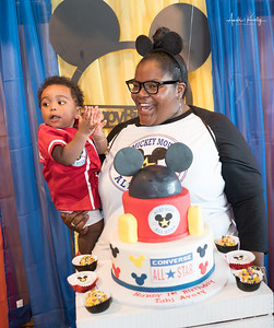 Tahj Avary's Mickey Mouse Theme 1st Birthday Party