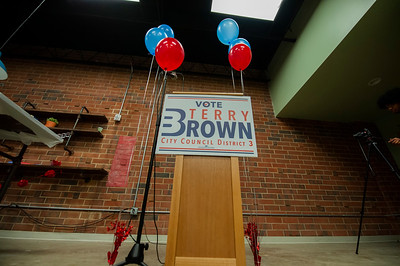 Terry Brown District 3 Announcement @ The Movement Center 1-17-19 by Jon Strayhorn