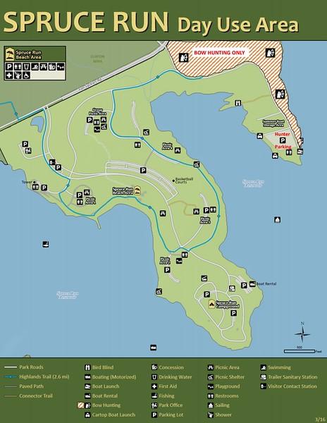 Spruce Run Recreation Area (Day Use Area)