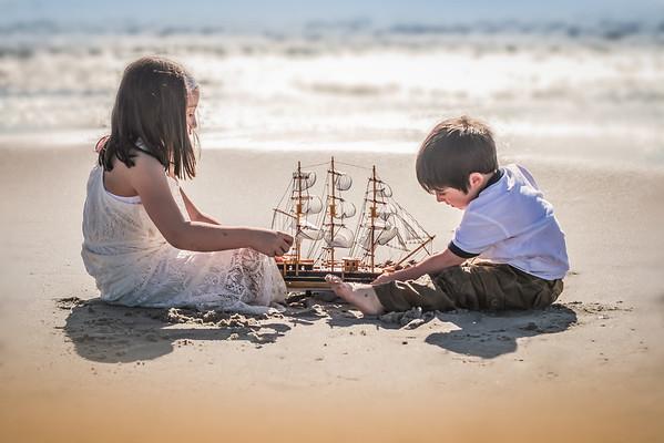 Beach Portraits - Christina and Robert