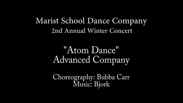 Atom Dance by Advanced Company - Marist 2016.mp4