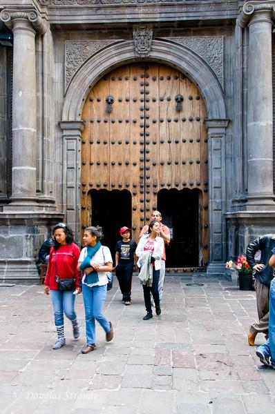 Quito, Ecuador The doors have doors