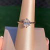 1.05ct Oval Cut Diamond Solitaire, GIA H SI1 13