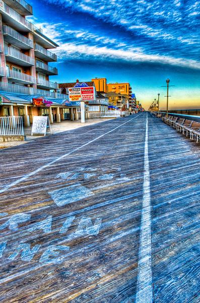 the OC boardwalk