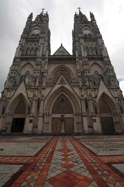 La Catedral de Quito from La Plaza Grande