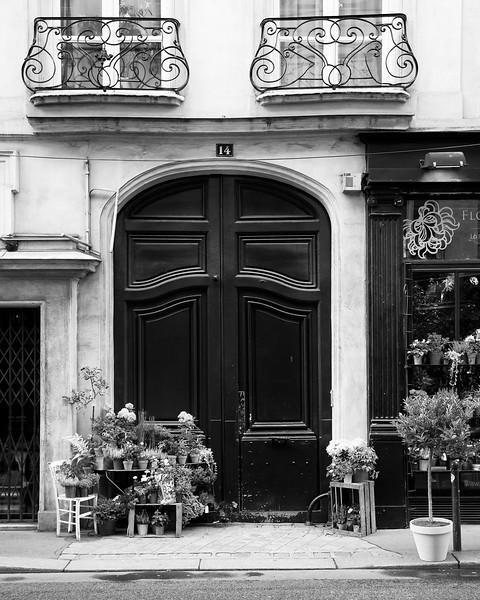 Paris Sidewalk Florist