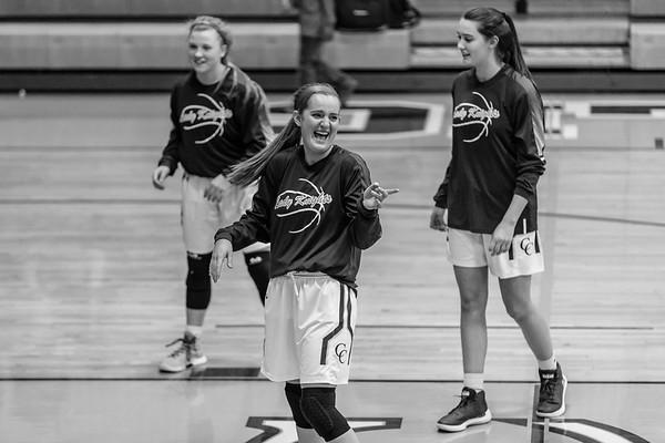 CC Girls Varsity Basketball vs West Lafayette 2018-1-9