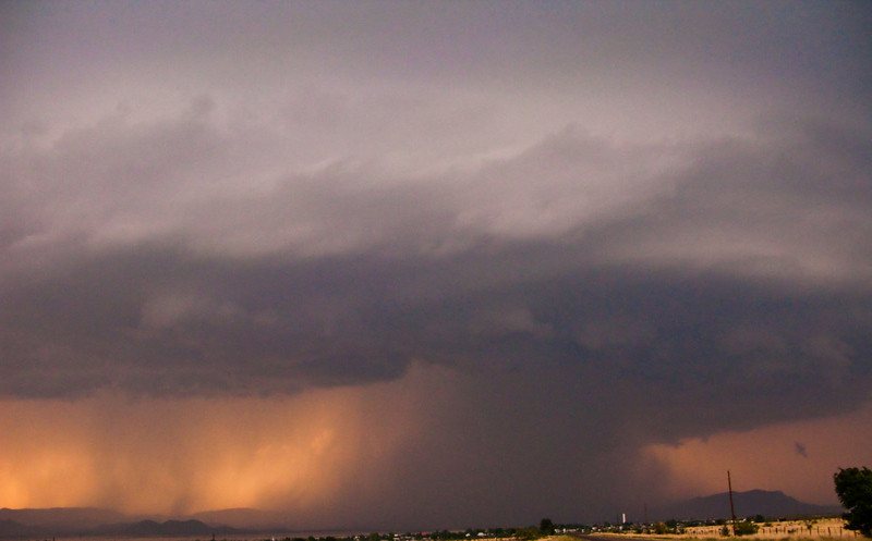 5/10/2009 - Supercell over Marathon, TX