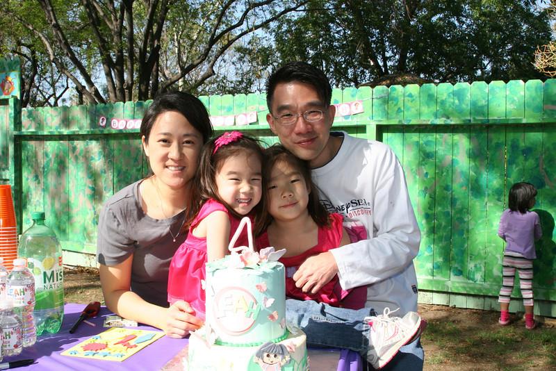 Leah's fourth birthday
